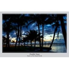 Art Print: Sunset on Pine Island